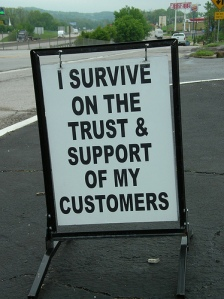 support and trust